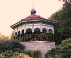 The gazebo in Eden Park, Cincinnati, Ohio, where Imogene Remus was killed on October 6, 1927, is said to be haunted by her ghost