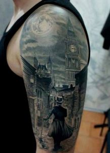 Half-Sleeve Tattoo