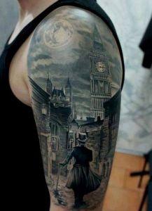 Half-Sleeve Tattoo