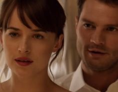 A teaser trailer for 'Fifty Shades Darker' was just released on Instagram today, and, yes, we are very intrigued.