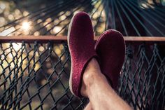 Kick back and relax. Slippers for men