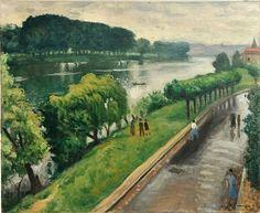 Albert Marquet - Au Bord de la Seine, la Frette (1940)