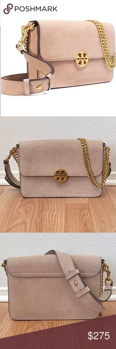 b99f195dfc8f ✨EUC✨Tory Burch Chelsea Stucco Suede Shoulder Bag Tory Burch Stucco Suede  Shoulder Bag