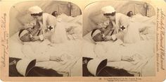 A field hospital on the Tugela River during the Boer War, South Africa, 1900. Pictures of Nursing: The Zwerdling Postcard Collection. National Library of Medicine
