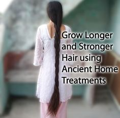 Grow #Hair Longer and Stronger - #Natural Way - No Side Effects