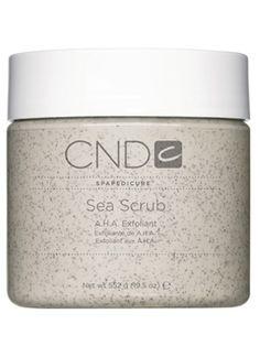 Creative Nail Design Spa Pedicure AHA Sea Scrub - InStyle Best Beauty Buys 2006 Winner