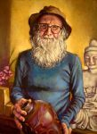 Col Levy Potter..oils by xxaihxx