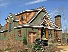 Rustic style house plan with porches, stone fireplace and photos. Will work great on a corner lot at the lake or in the mountains. Visit us to view all of our rustic style plans. Porch House Plans, Rustic House Plans, Patio Flooring, Terrazzo Flooring, White Flooring, Brick Flooring, Basement Flooring, Bathroom Flooring, Rustic Cottage