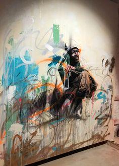 Street Art by Sebastian Wandl, located in Berlin