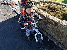 Balance bike help toddler to develop his balance ability