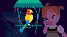 """I just stopped into Walt Disney's Enchanted Tiki Room on a recent visit to Magic Kingdom Park. This classic attraction comes to life when José wakes up the rest of the flock to give a performance that's positively """"enchanted."""""""