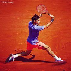 Roger #Federer Roland Garros 2015