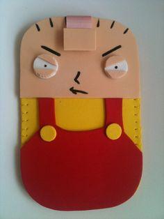 Stewie Mobile Case by ~anapeig on deviantART