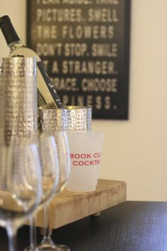 Book Club   The Kissing Booth Home entertaining -- setting the mood and right wine or cocktails #entertaining