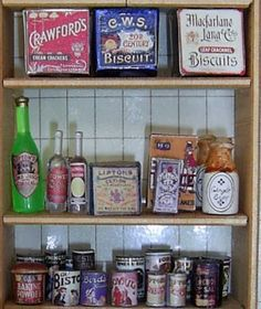 How to stock your dollhouse pantry
