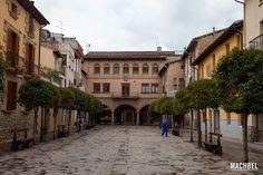 Antiguo patio de armas del castillo de Sangüesa