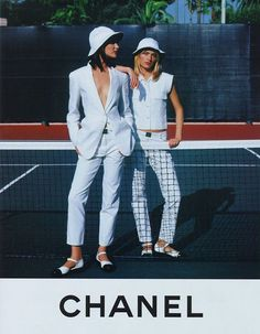 Shalom Harlow & Amber Valletta photographed in Monaco by Karl Lagerfeld for CHAN. - Fashion Style - Shalom Harlow & Amber Valletta photographed in Monaco by Karl Lagerfeld for CHANEL SS - Amber Valletta, Chanel Fashion, 90s Fashion, Vintage Fashion, Fashion Beauty, Classic Fashion, Female Fashion, Fashion Kids, Fashion Shoot