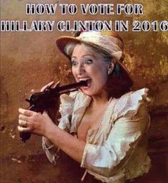 Funny Hillary Clinton Meme How To Vote For Hillary Clinton In 2016 Image