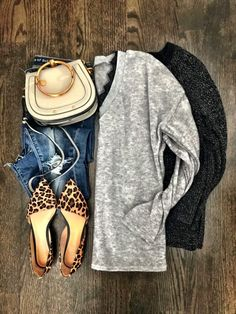 fall outfit ideaswinter outfit ideas Leopard Shoes Outfit 1d0549ad781