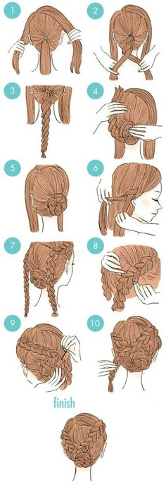 hair hair updos 65 Easy And Cute Hairstyles Th Cute Quick Hairstyles, Simple Wedding Hairstyles, Girl Hairstyles, African Hairstyles, Latest Hairstyles, Amazing Hairstyles, Elegant Hairstyles, Wedding Hairdos, Sweet Hairstyles