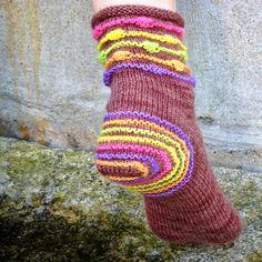 TantKofta: Vill du sticka sockorna Påskris
