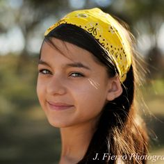 Yellow Bandana Wide Headband