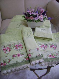 jogo de toalha completo | Maria Jose da Silva Souza | Flickr