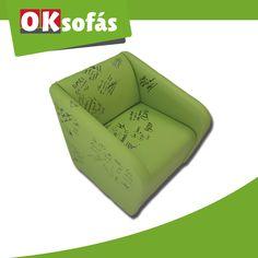 ¡Tenemos una buena noticia! #OKSofás ha donado la #butaca firmada en Cadena Dial para una buena causa ¿Pujas? http://ebay.eu/2efYhnD
