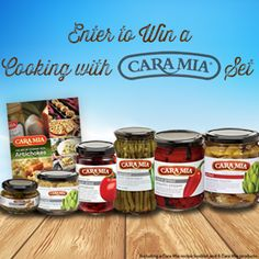 Includes a Cara Mia Recipe Booklet and 6 Cara Mia products including Marinated and Grilled Artichokes, Marinated Green Asparagus, Piquillo Peppers, Sun-Dried Tomatoes and Marinated Mushrooms. http://caramiaset.pgtb.me/2d3m3W/jpLFb?w=38946145&e=102151816