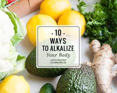 Some of our body's systems can contain some natural acid, generally speaking we are more alkaline, this enables our immune system, digestions and bodily functions to work properly. The Alkalinity of our body means there is more oxygen present, so when we eat alkaline foods our blood takes in more oxygen. Things that can disrupt our body's pH levels (And cause the body to become to acidic) include // skinnymetea.com.au