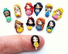 Princesas de MixMatch stud pendientes, Mulan, Jasmine, Tiana, joyas de nieve White,Rapunzel,Pocahontas,Ariel,Cinderella,Merida,Belle,Aurora.Disney.