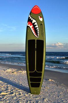 SUP-2u Stand up Paddle Board - 1'6 WarHawk  www.SUP-2u.com