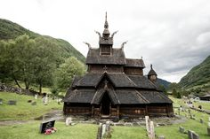 These austere churches mix Nordic dragons with Christian saints.
