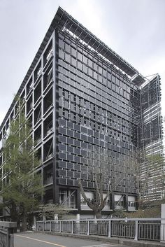 Tokyo Institute of Technology, Solar panels wall.