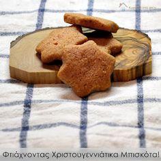 Κυριακή στο σπίτι: Φτιάχνοντας Χριστουγεννιάτικα Μπισκότα! All Things Christmas, Christmas Cookies, Xmas, Ice Cream, Sweets, Fruit, Greek, Cooking, Knights Templar