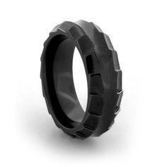 Edward Mirell - Templar Collection - Black Titanium Ring