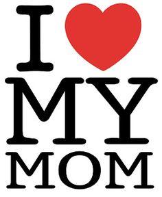 Eu #Amo minha #Mãe. #Maternidade
