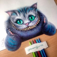 Do it like the #cheshire cat from 'Alice in wonderland' and keep smiling! Great ballpointpen drawing by the talented @daveduffyarts You've got also talent? Use #mySTAEDTLER if you want to get featured! #STAEDTLER #drawing #pencil #sketching #instaart #ballpointpen #ballpointpendrawing #STAEDTLERpens #cheshirecat #aliceinwonderland