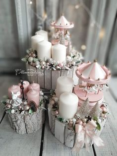 - Happy Christmas - Noel 2020 ideas-Happy New Year-Christmas Rose Gold Christmas Decorations, Christmas Advent Wreath, Merry Christmas To All, Christmas Centerpieces, Xmas Decorations, Christmas Holidays, Christmas Crafts, Christmas Costumes, Christmas Tree Inspiration