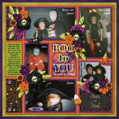 Boo To You  Credits: Template by Tinci Designs - Amazing Year - September 2 - Template 3 #believeinmagic – Halloween Party by Amber Shaw and Studio Flergs #believeinmagic – Halloween Party Shimmers by Amber Shaw #believeinmagic – Halloween Party Cards by Amber Shaw and Studio Flergs Trick or Treat by Chelle's Creations (retired) Alice In Wonderland Font