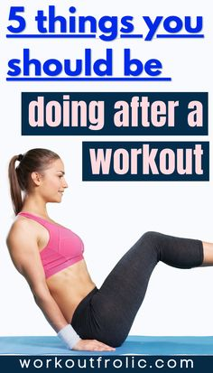 5 things to do after your workout in order to speed up your recovery and maximize your fitness results! #postworkout #recovery #training #workout Functional Workouts, Workout Results, Post Workout, You Fitness, Self Care, Recovery, Things To Do, Conditioner, Training
