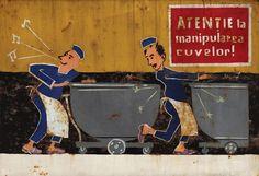 21 dintre cele mai amuzante afișe comuniste din România lui Ceaușescu - VICE Romania, Past, Nostalgia, Baseball Cards, History, Collection, Vintage, Past Tense, Historia