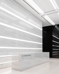 @fogartyfinger's sleek entrance for 437 Madison Avenue in New York received Best…