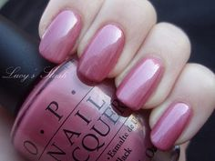 One of my favorite nail colors. OPI: Not So Bora Bora-ing Pink Opi Nail Polish, Opi Nails, Nail Polish Colors, Nail Polishes, Short Nail Designs, Nail Art Designs, Opi Pink, Polka Dot Nails, Super Nails