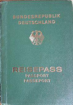 Reisepass Bundesrepublik Deutschland