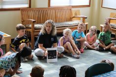 "Yesterday kids learned about the ""superhero senses"" of humans & animals, thanks to the Cold Spring Harbor Whaling Museum!"