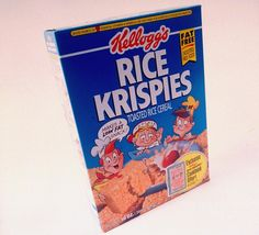 Before: Cereal Box