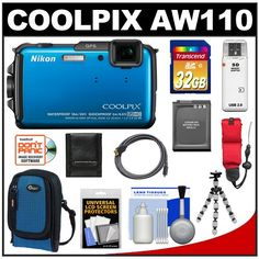 Nikon Coolpix AW110 Shock  Water... for only $324.95