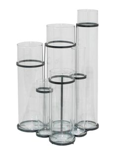Cylinder Vase by Three Hands at Gilt