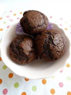 Toujours mes muffins au chocolat trop moelleux :) h